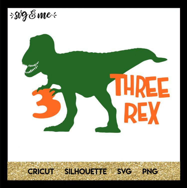 Download Three Rex Birthday Dinosaur | 3 year old birthday party ...