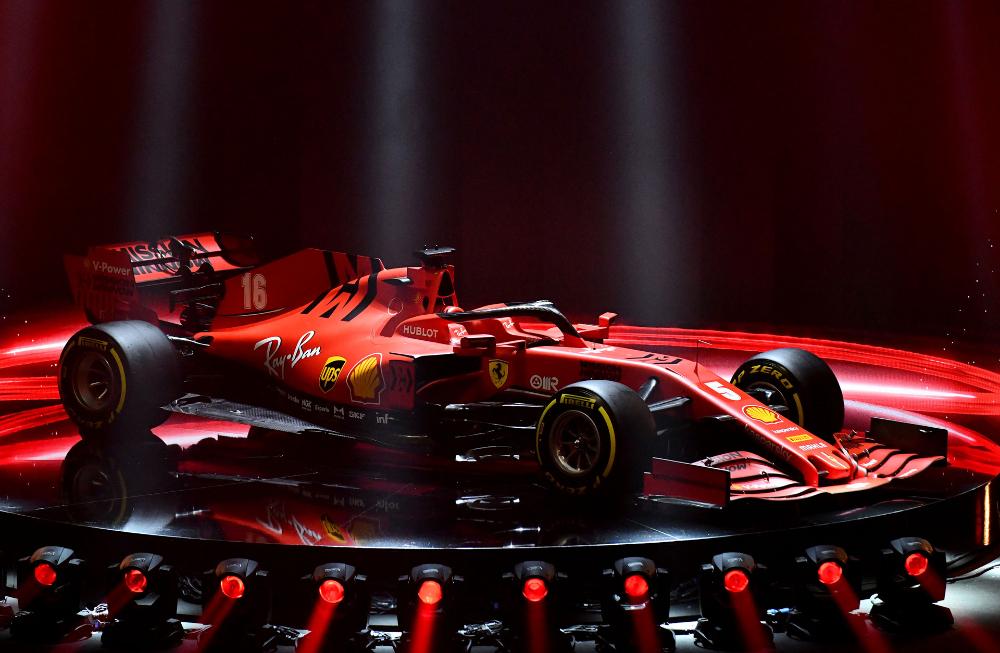 Ferrari's 2020 F1 car revealed as the SF1000 in 2020