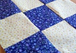 Simple 9 patch quilt