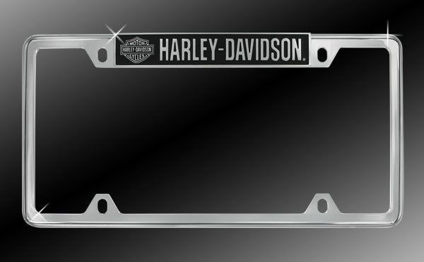 Harley-Davidson License Plate Frame HD Plate Holder | Hubby ...