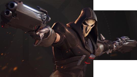 Overwatch Reaper Render By Popokupingupop90 Overwatch Reaper Overwatch Reaper
