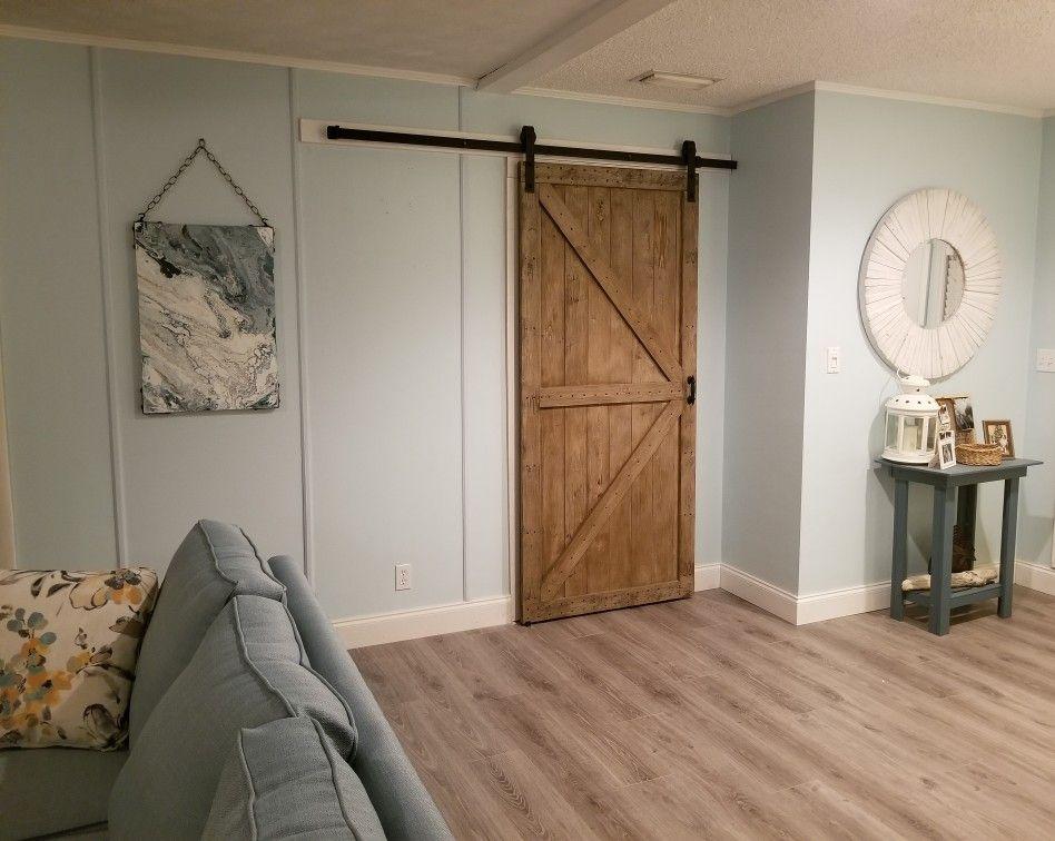 Livingroom Remodel Barn Door Bathroom Doors Pocket Doors