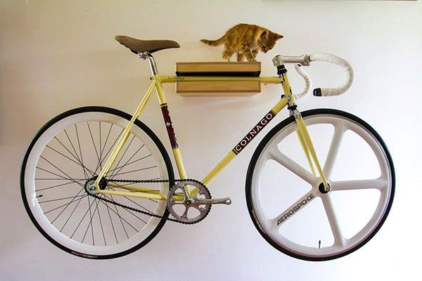 a i d bike holder support mural v lo fixie pignon fixe singlespeed pinterest fixie. Black Bedroom Furniture Sets. Home Design Ideas