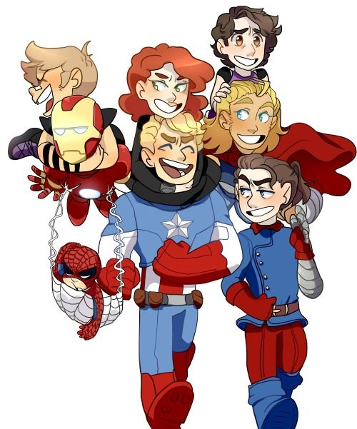 The Little Hero AU, (( Superfamily- Full Picture.))
