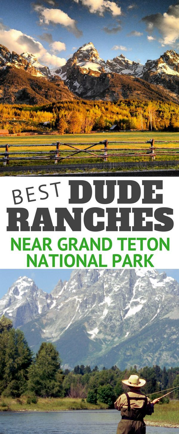 Planning a vacation to Grand Teton National Park? Nearly a dozen nearby dude ranches and guest ranches to experience the natural beauty of the area on horseback.