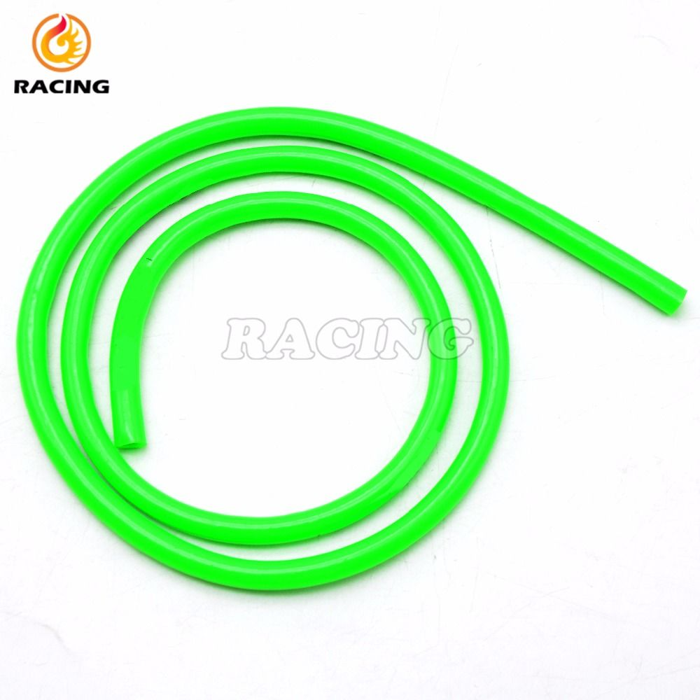 new Green Motorcycle Fuel Gas Line Hose Tube Rubber Fuel Line oil ...