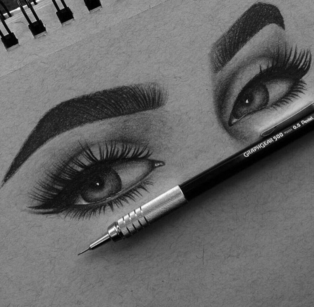 Eyes are the most powerful sensitive organ to express our inner feeling mutely pencil sketches simple art drawings