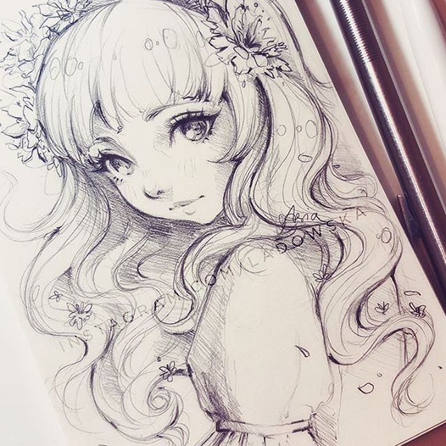 Beautiful Anime Drawing Gift Drawing Anime Drawings Anime Art Beautiful