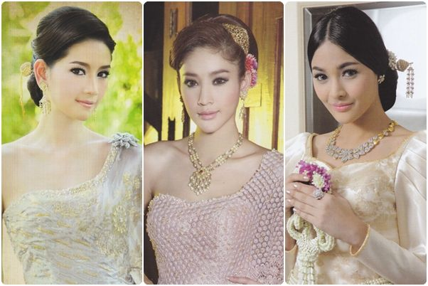Thai wedding hairstyles