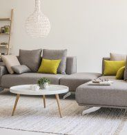 Table Basse Ronde Laquée Style Scandinave Fly Idées Salon
