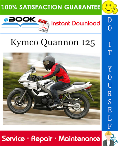 Kymco Quannon 125 Motorcycle Service Repair Manual Repair Manuals 125 Motorcycle Motorcycle