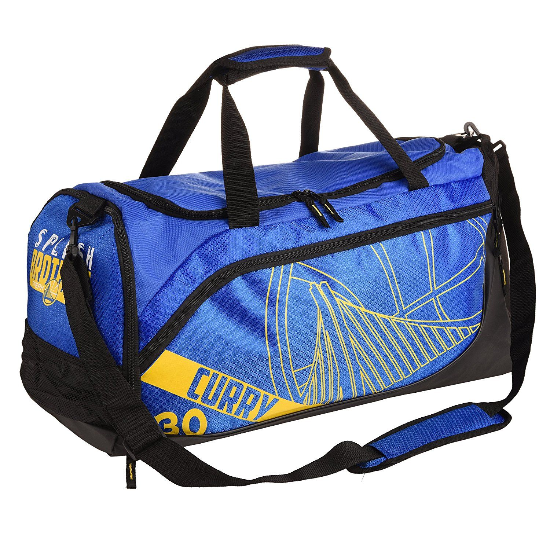 Golden State Warriors Splash Brothers Locker Room Duffle Gym Bag - Stephen Curry