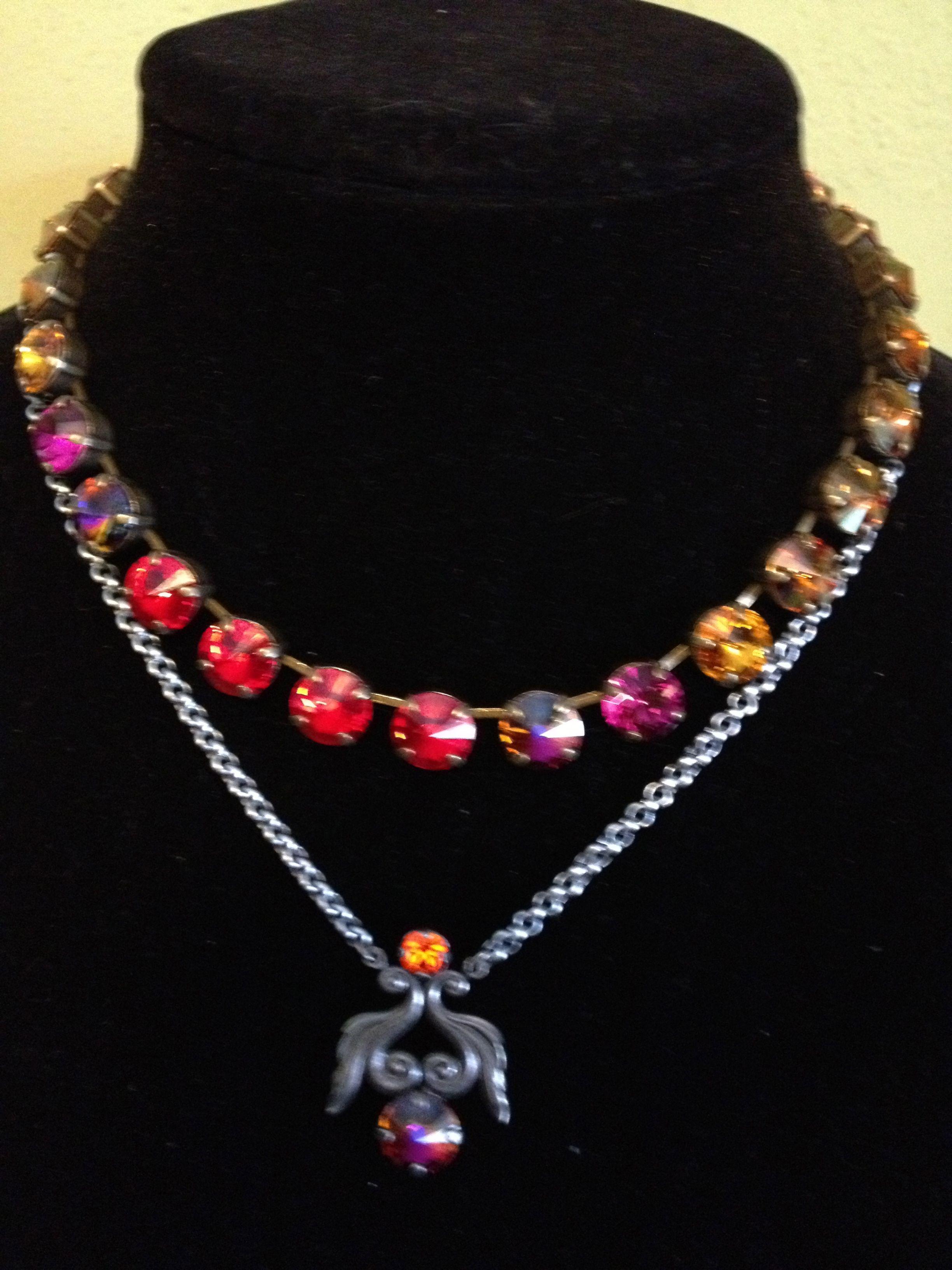 Sabika look necklace - Sabika W12 Bright Spots Manhattan S13 Vintage Modern Intuition Necklace Karen Freier