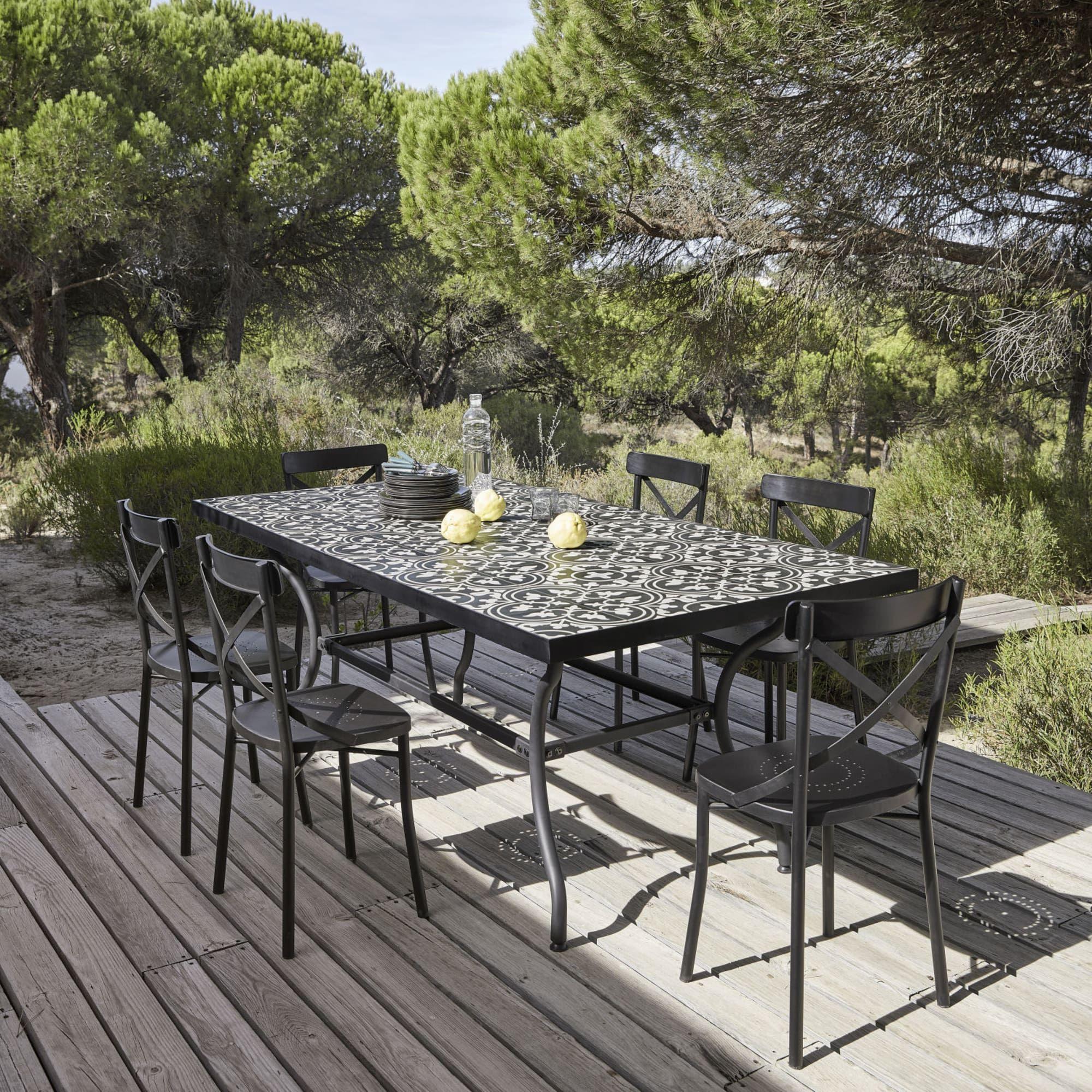 Mobili da giardino   Tavoli in metallo, Tavolo terrazzo ...