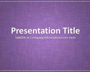 Linen Purple Powerpoint Template First Days Of School Pinterest