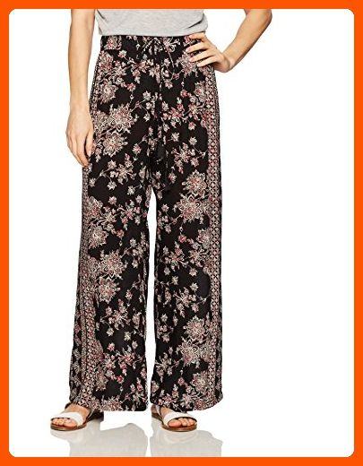 c66c33a319bf Angie Women s Printed Wide Leg Pant with Tassel