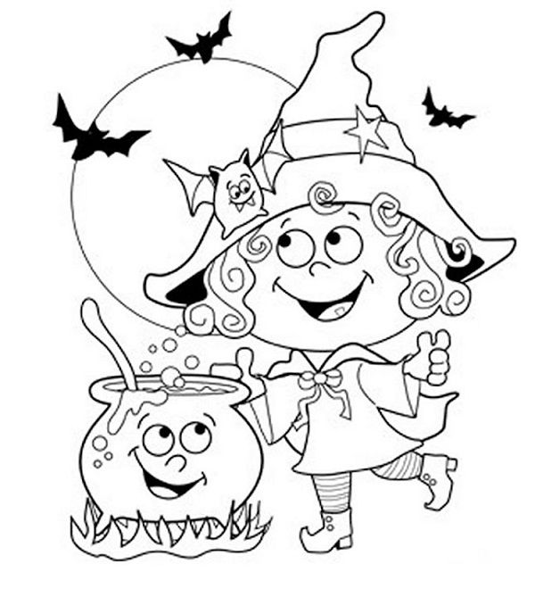 halloween coloring pages for 2 year olds coloring pages for kidsprintable - Halloween Coloring Pages For Kids Printable Free 2