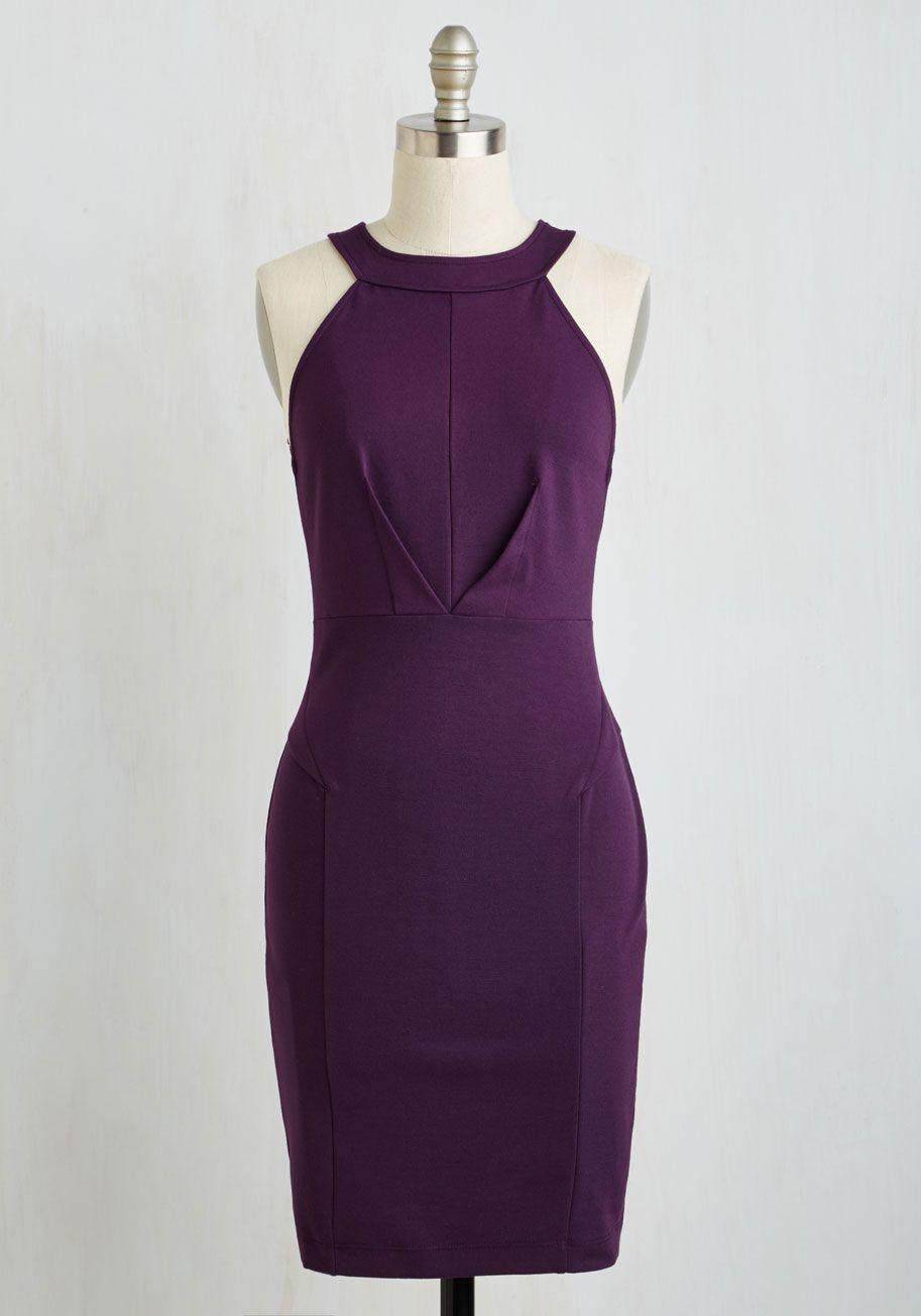 d244da2e7e Anniversary Allure Dress in Plum