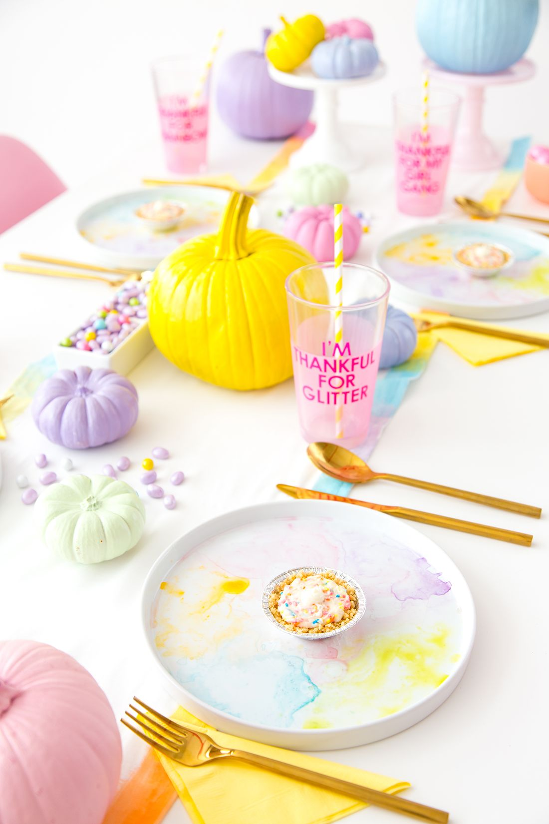 See How To Make These Cute Pastel DIY Decorations For Your Friendsgiving  Celebration, With Easy, Cost Saving Tips U0026 Ideas From !