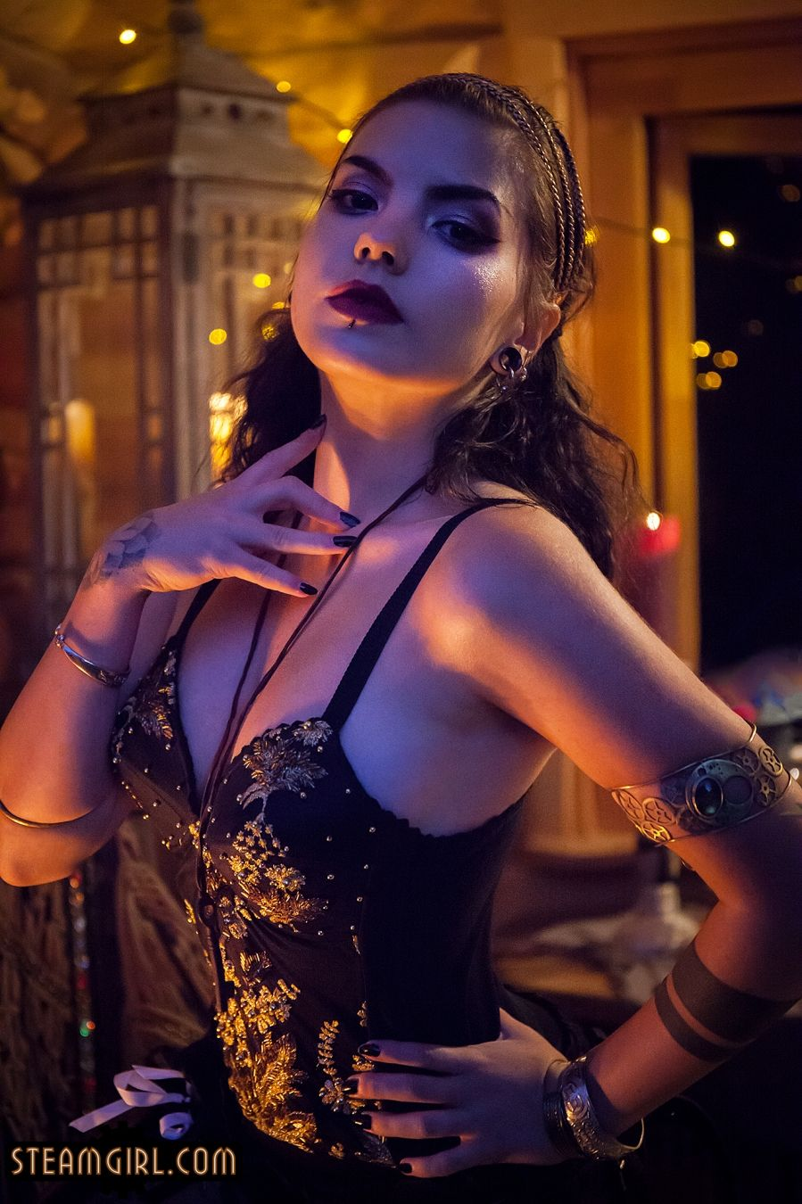 Steamgirl.com | Steampunk and Neo Victorian erotic photography by Kato -  Gypsy Firedance Tour - Gypsy Firedance Tour
