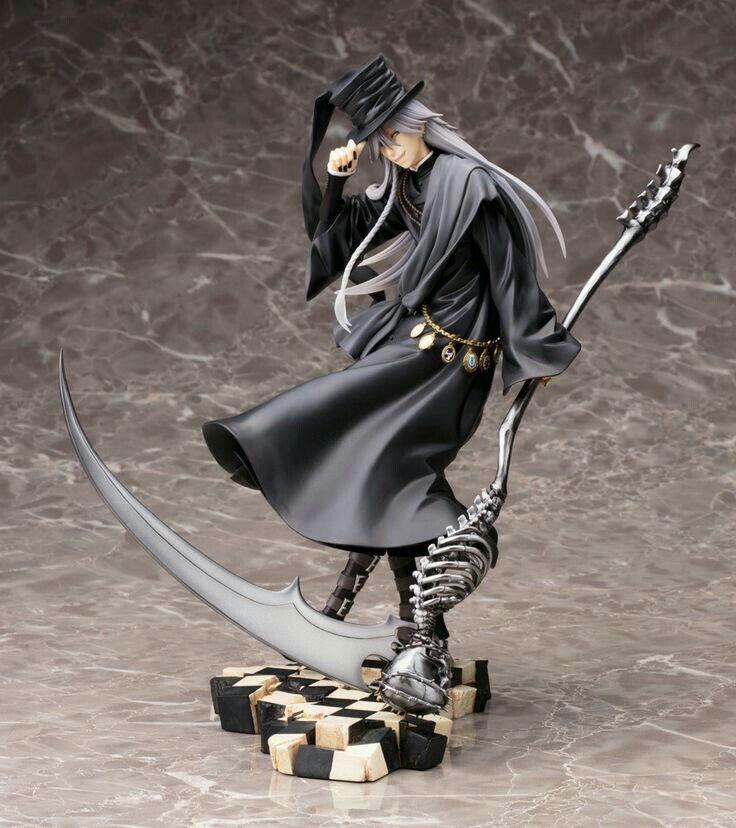 Undertaker Black Butler Grim Reaper Statue Figure Figurine