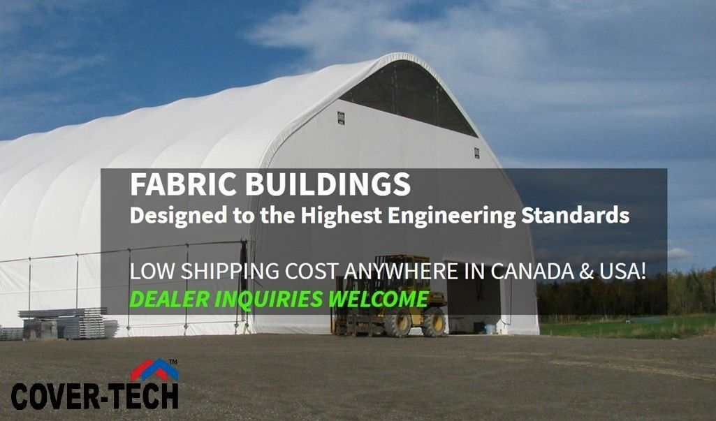 Pin By Cover Tech Inc On Products Fabric Buildings Dome Building Portable Buildings
