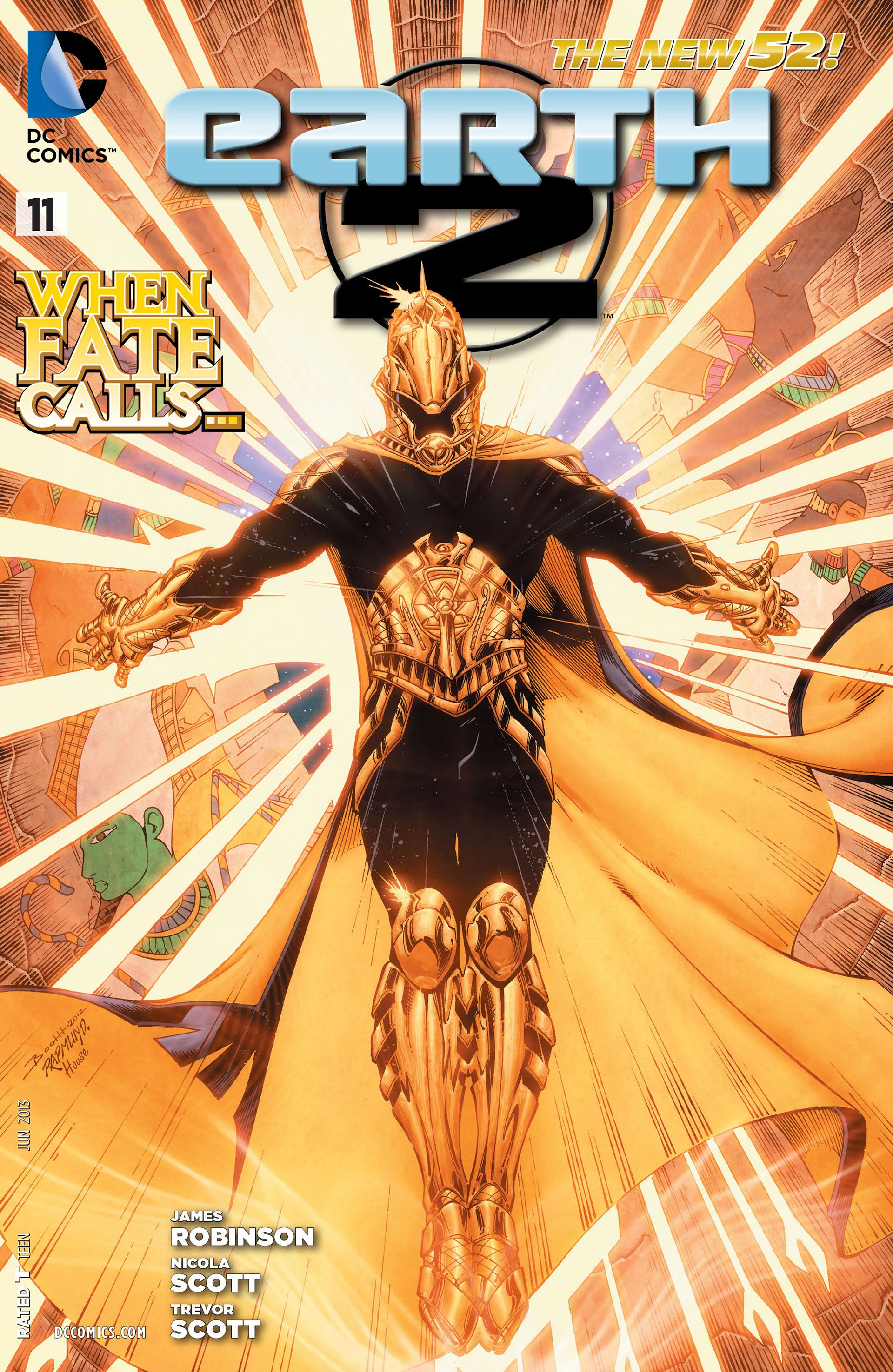 Earth 2 #11 - The Tower of Fate, Part Two: The Man Who Was Brave (Issue)