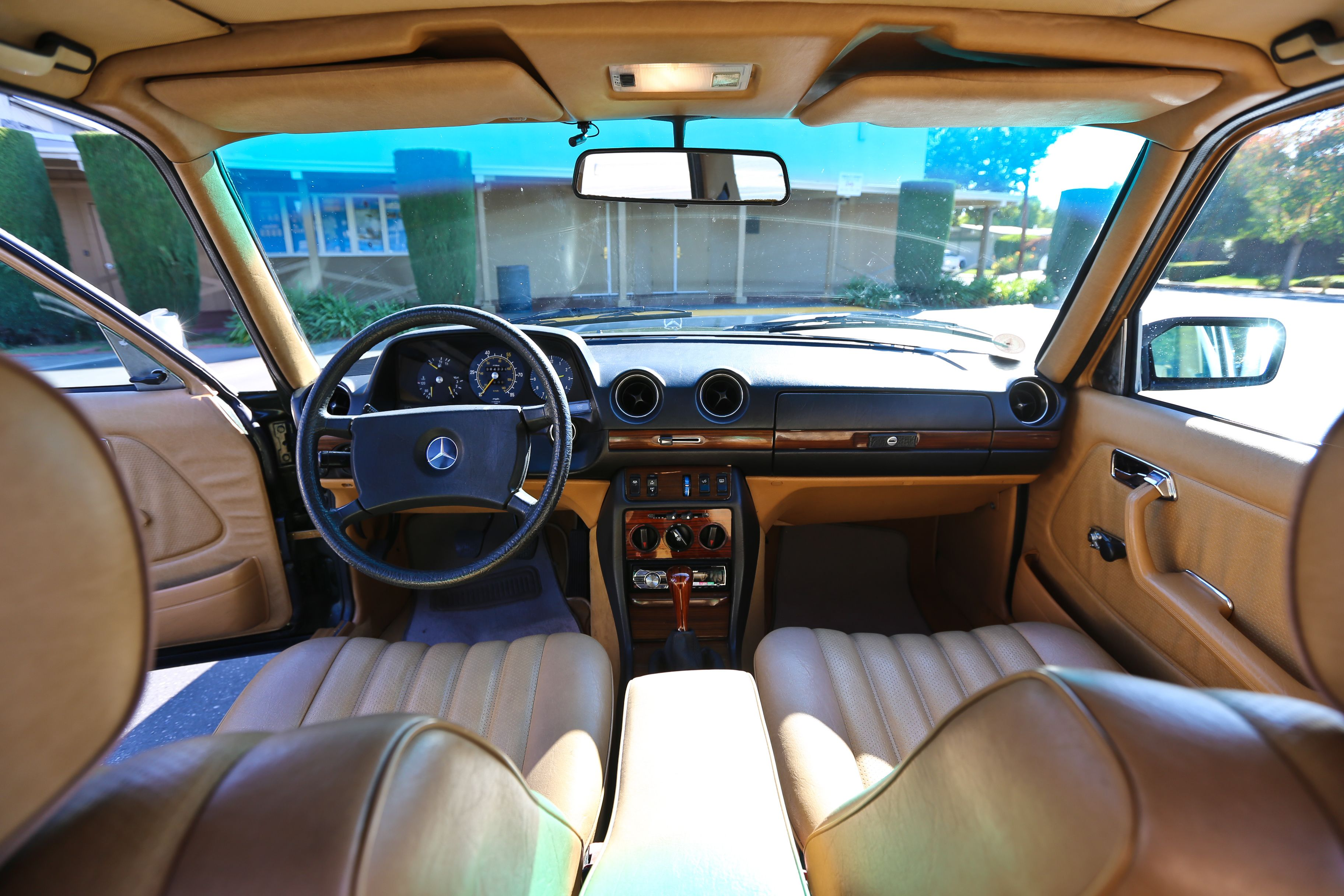 Image result for w123 interior