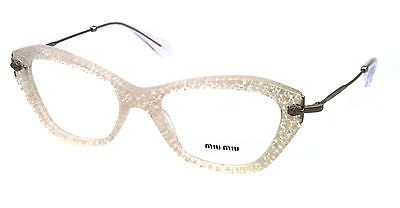 super popular b47b7 08508 New MIU MIU Eyeglasses VMU 04L White KAR1O1 VMU04L 52mm ...