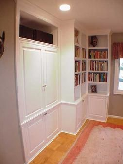 Built In Custom Cabinets And Bookcases For Northern Virginia