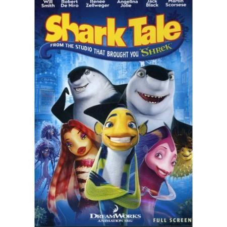 Shark Tale (DVD, 2005, Full Screen) NEW