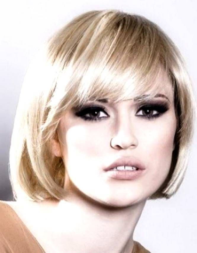 Beautiful Hairstyles For Oval Faces Womens Bob Frisur