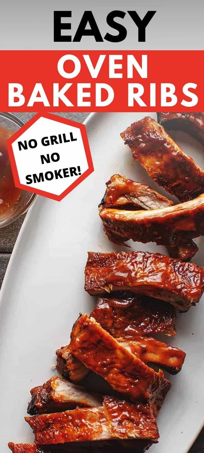 Easy Oven Baked Ribs • Low Carb with Jennifer