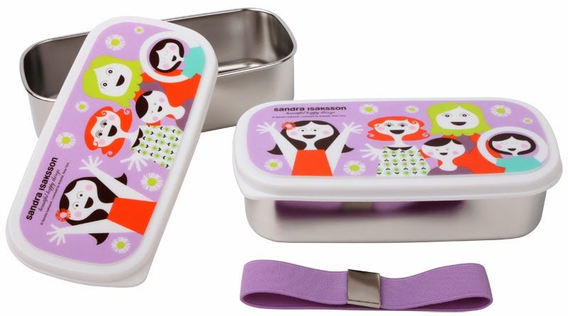 Isak bento boxes for kids. Cute!