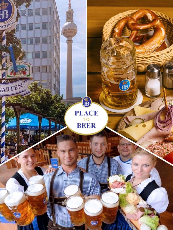 Vom Alexanderplatz ein Blick direkt auf die Welt-Zeit