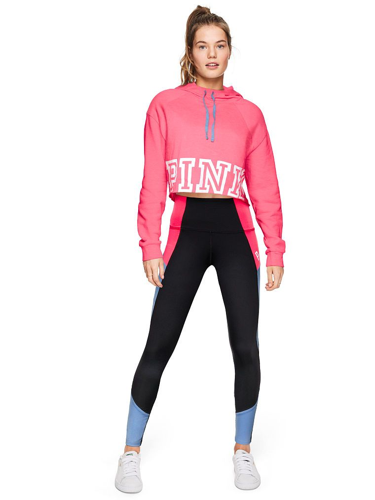 6283167b533af Ultimate High Waist Colorblock Legging - PINK - Victoria s Secret ...