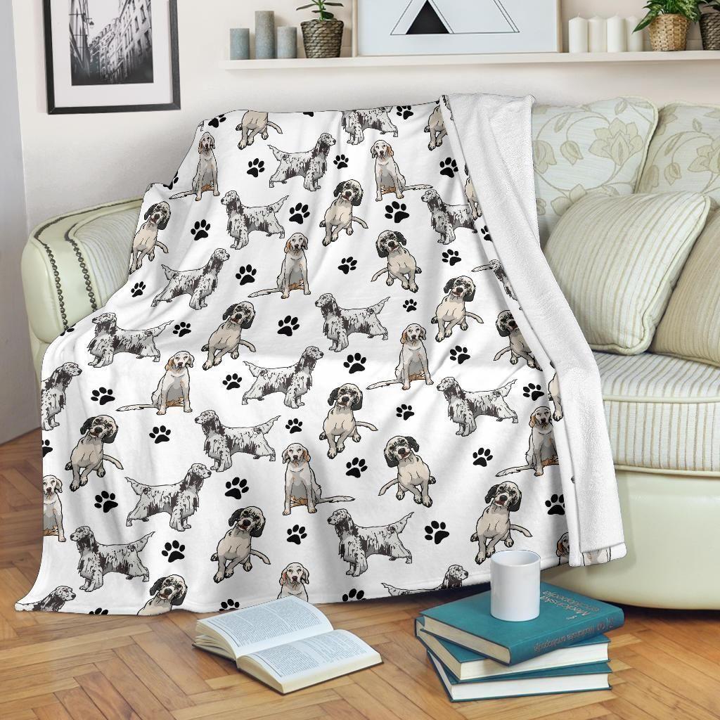 English Setter Fleece Blanket