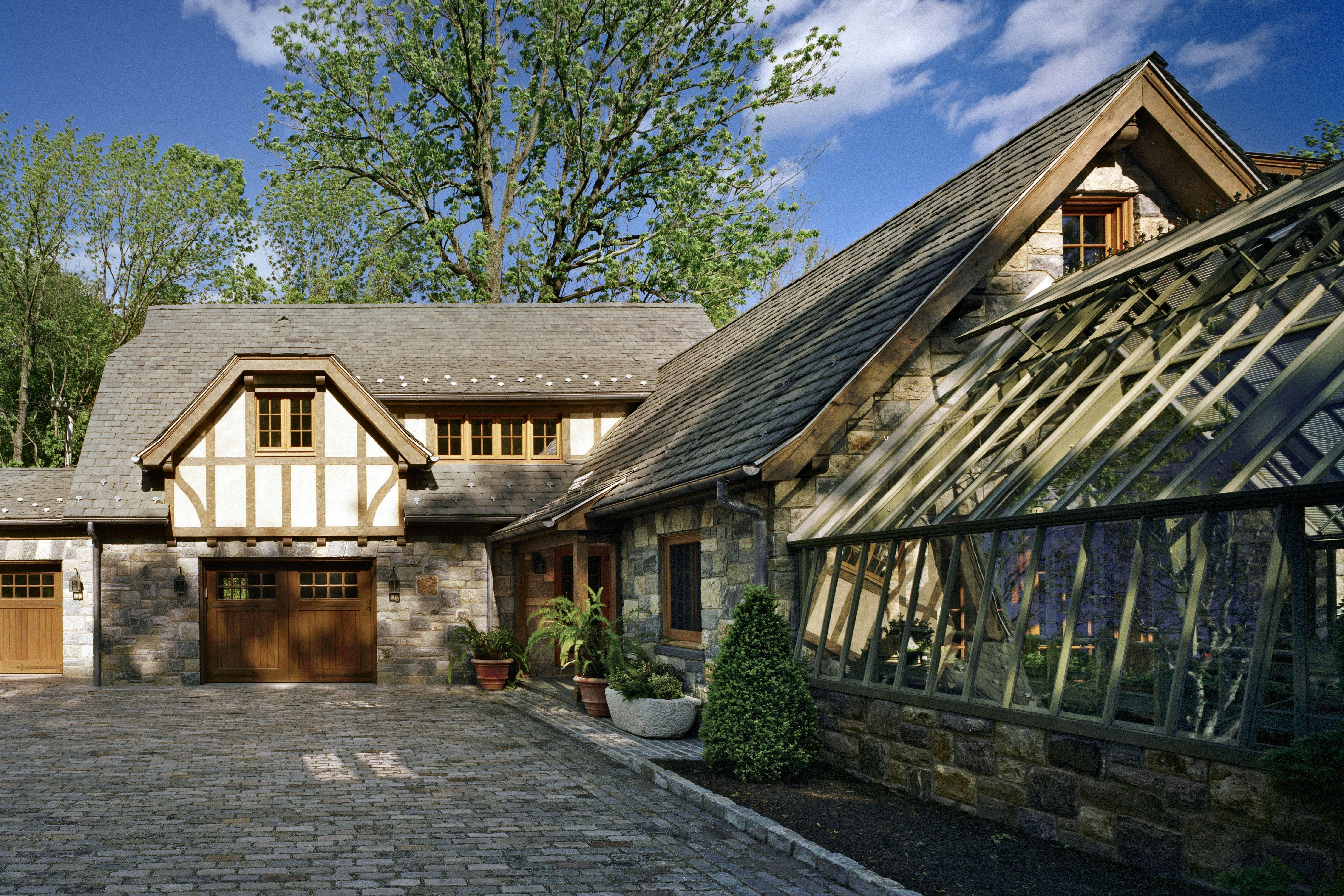 French country farm cottage architect farmhouse exterior