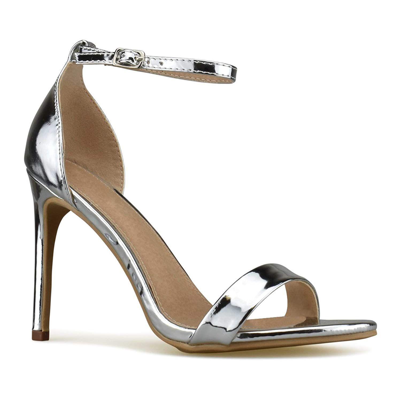 9e59c87dc3ef Ankle Strap · Shoes Heels · Wedges · Platform Shoes · Premier Standard Women s  Strappy Kitten High Heel - Formal