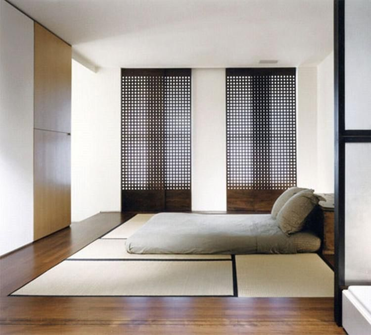 77 Modern But Simple Japanese Styled Bedroom Design Ideas Page 4 Of 77 In 2020 Japanese Bedroom Japanese Style Bedroom Bedroom Design Styles