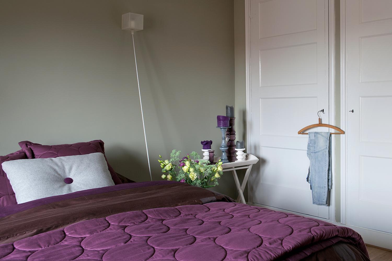 Slaapkamer Interieur Inspiratie : Ideeen slaapkamer schilderen inspirerende slaapkamer behang ideen
