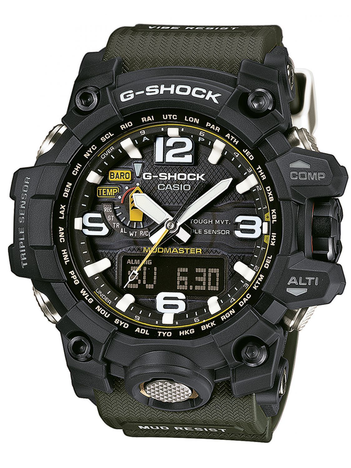 e2ef903e5ac8 Casio GWG-1000-1A3ER G-Shock Mudmaster Watch