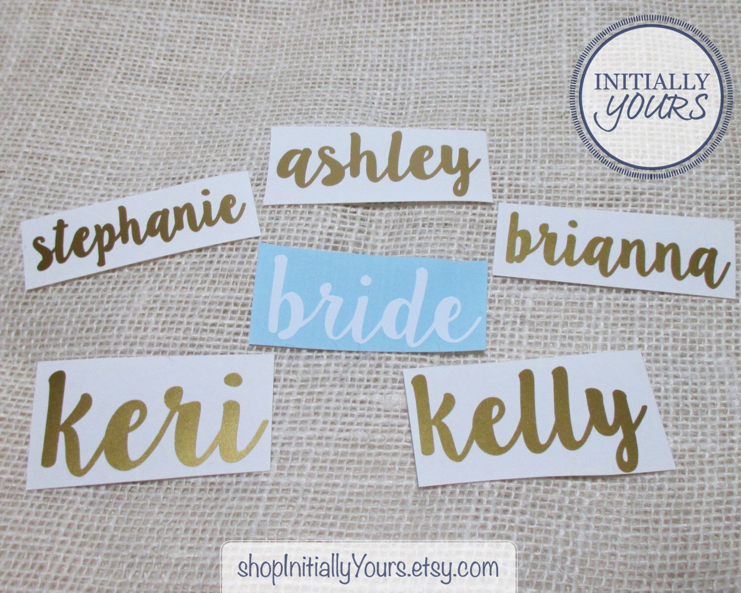 Uncategorized Diy Vinyl Stickers 2 bridal party vinyl decal diy wedding stickers tumbler cup decals