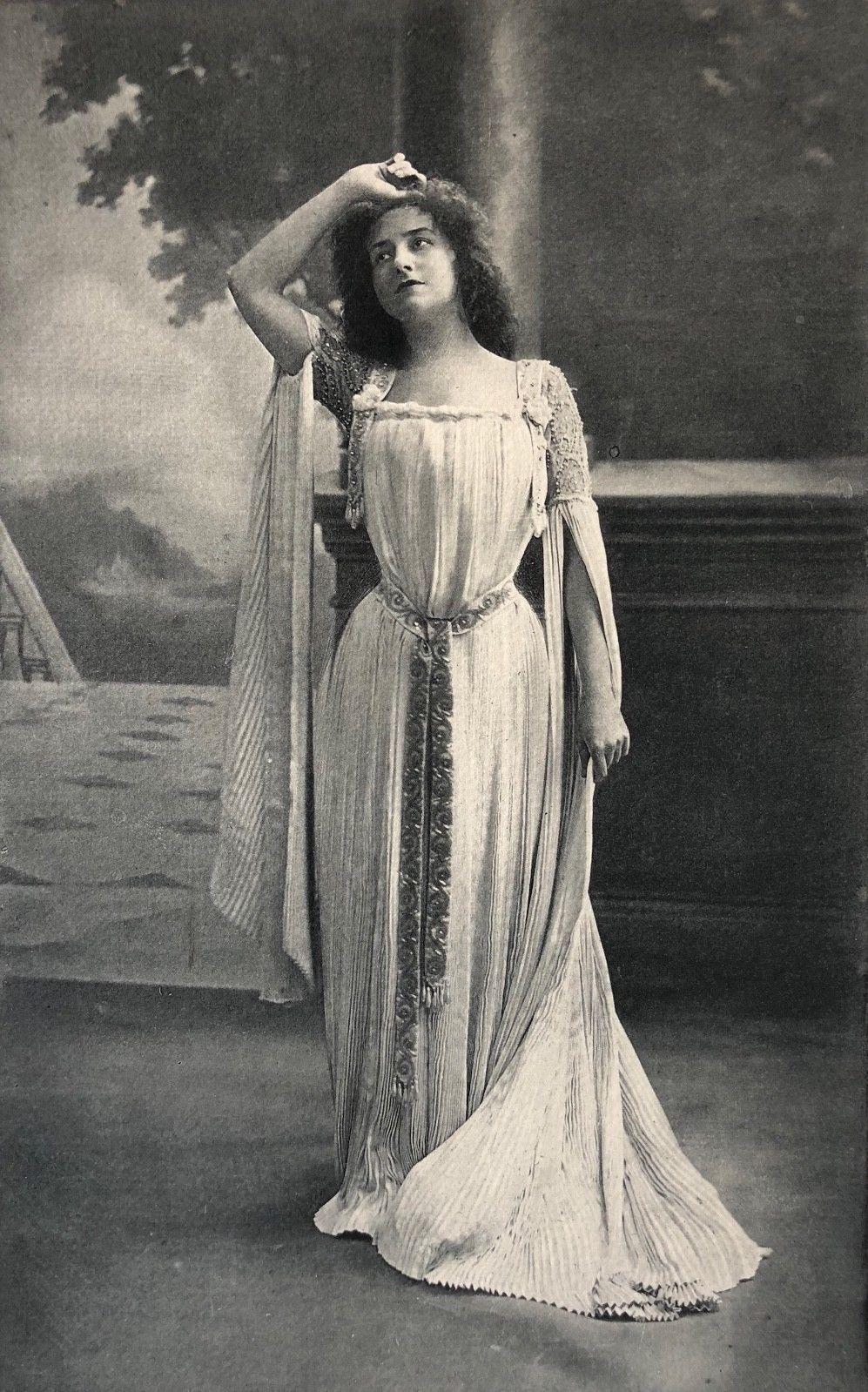 Détails sur Sigrid Arnoldson (18611943) cantatrice