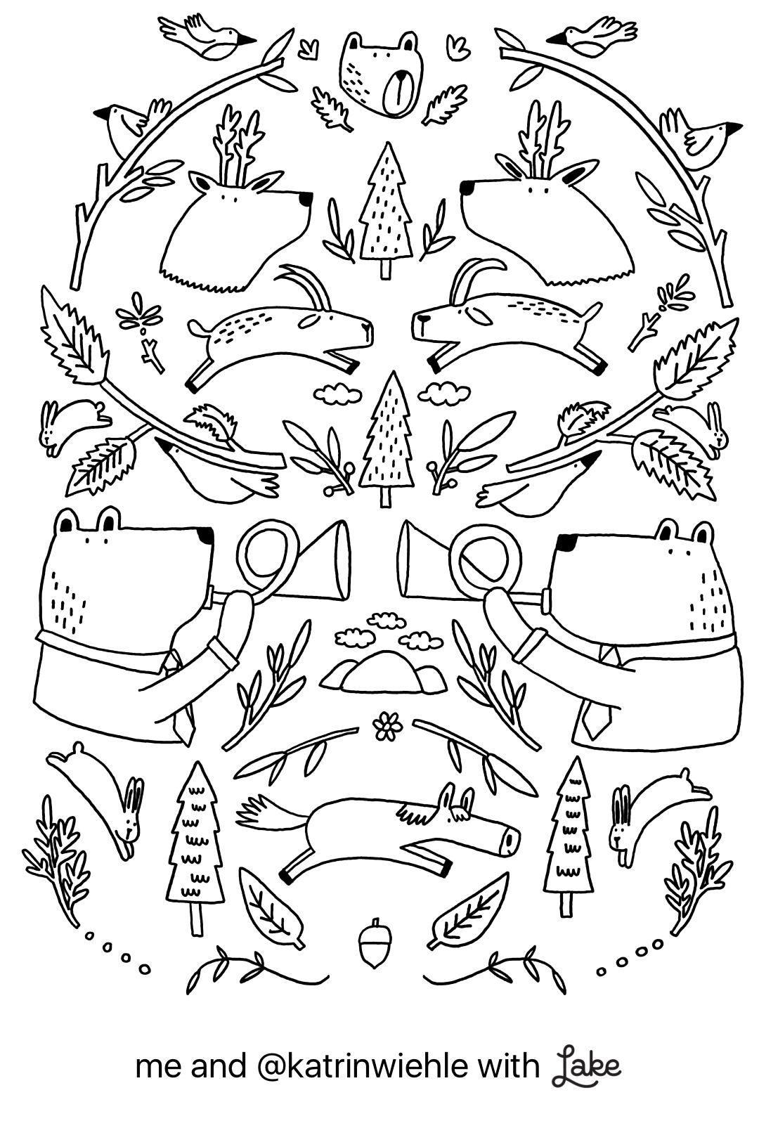 Coloring Page From Lake Coloring App Coloring Pages Coloring Apps Color
