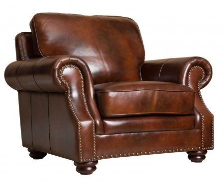 Merveilleux Abbyson Living Karington Hand Rubbed Leather Armchair Review  Https://reclinersforsmallspaces.info/