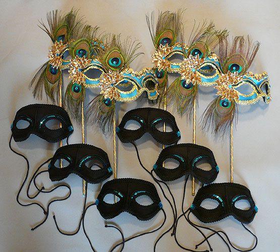 quincienera court masks