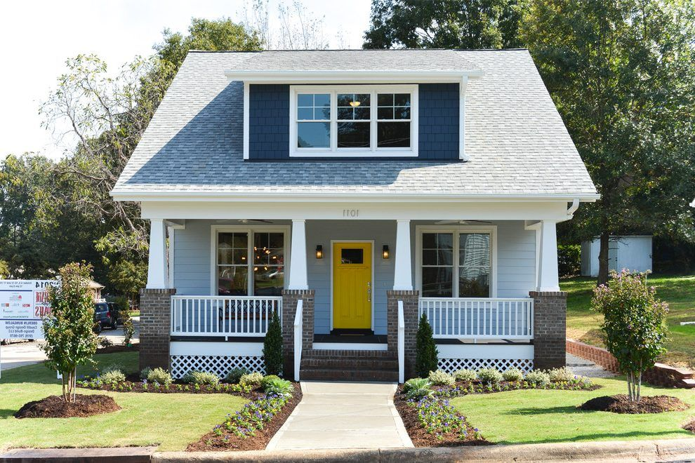 Craftsman Bungalow Style Homes With Dormer | Craftsman Dormer Exterior  Craftsman With Shed Dormer New .