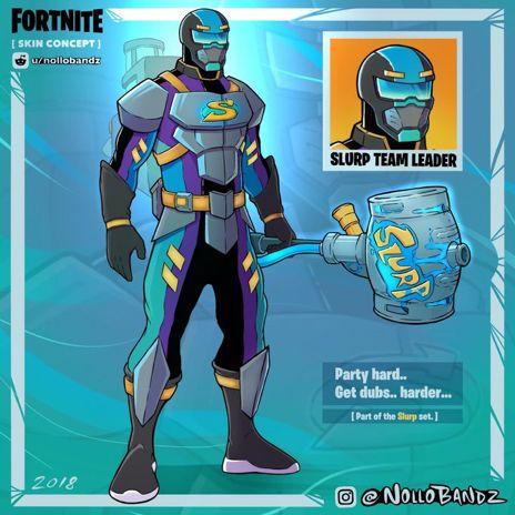 Cool Fortnite Concept Skins