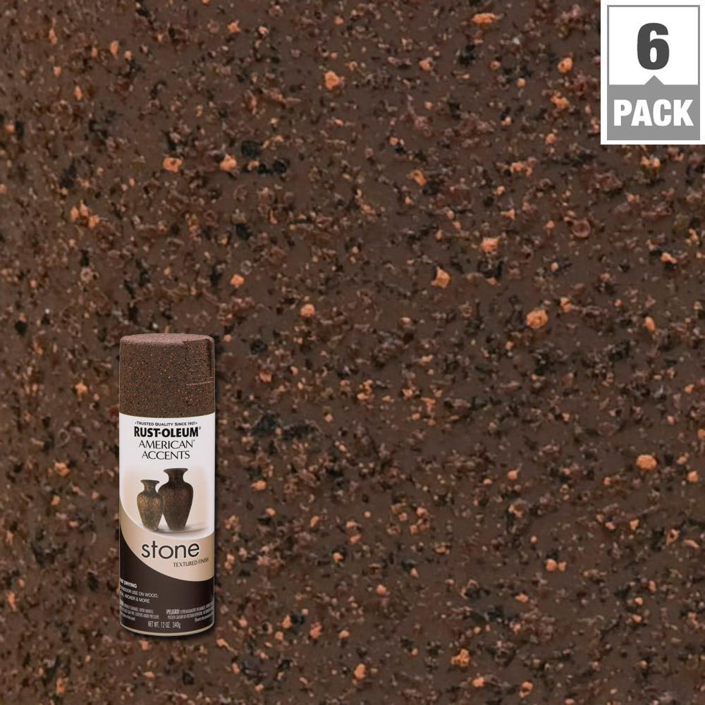Rust Oleum American Accents 12 Oz Stone Creations Granite Stone